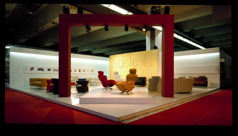 Matteo vercelloni studio di architettura adele c stand for Stand salone del mobile